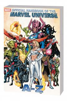 Official Handbook of the Marvel Universe a to Z Vol. 4 (Trade Paperback)