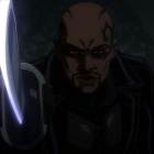 Screenshot from the Blade anime series