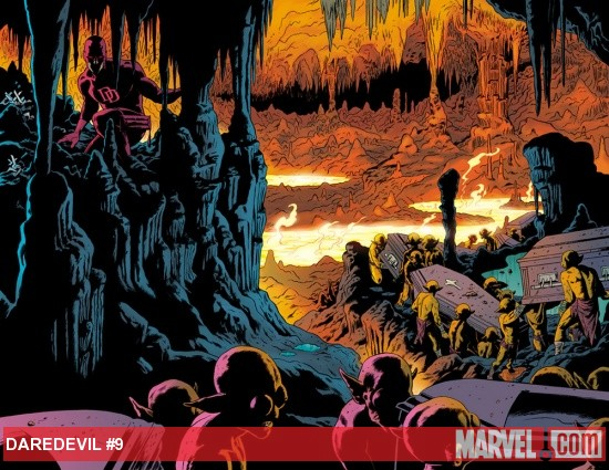 Daredevil (2011) #9 preview art by Paolo Rivera