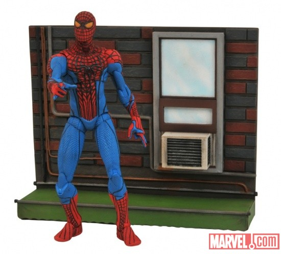 The Amazing Spider-Man Figure Prototype (Painted by Jason Wires)