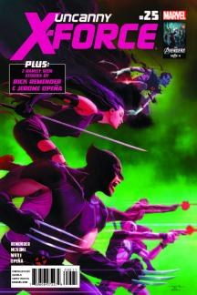 Uncanny X-Force #25