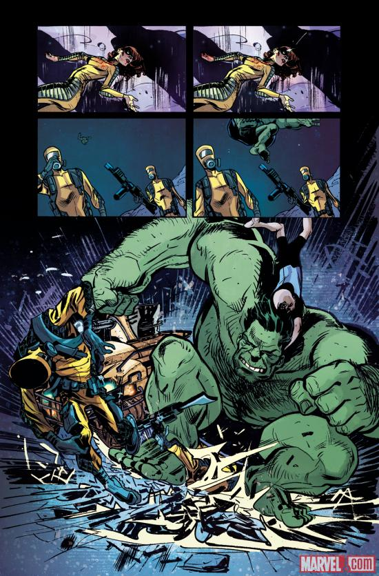 Hulk: Season One preview art by Tom Fowler