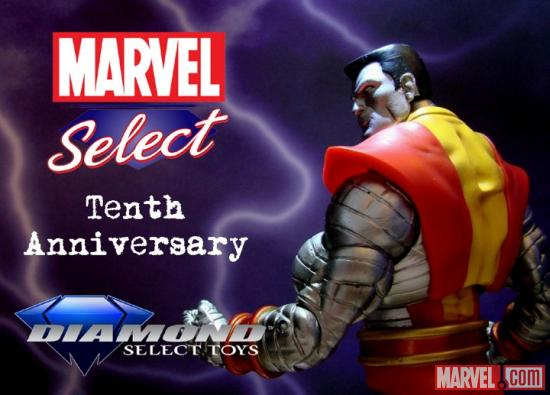 Marvel Select 10th Anniversary Colossus Contest Image
