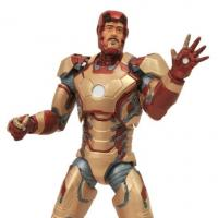 Iron Man 3 Mark 42 and War Machine Figures Revealed