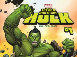 The Totally Awesome Hulk #1 cover art