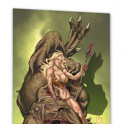 SHANNA THE SHE DEVIL: SURVIVAL OF THE FITTEST #0