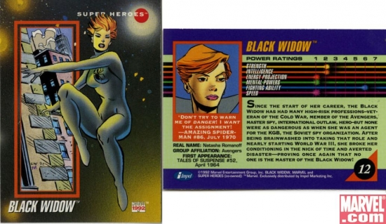 Black Widow, Card #12