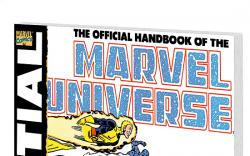 ESSENTIAL OFFICIAL HANDBOOK OF THE MARVEL UNIVERSE - DELUXE EDITION VOL. 1 #0