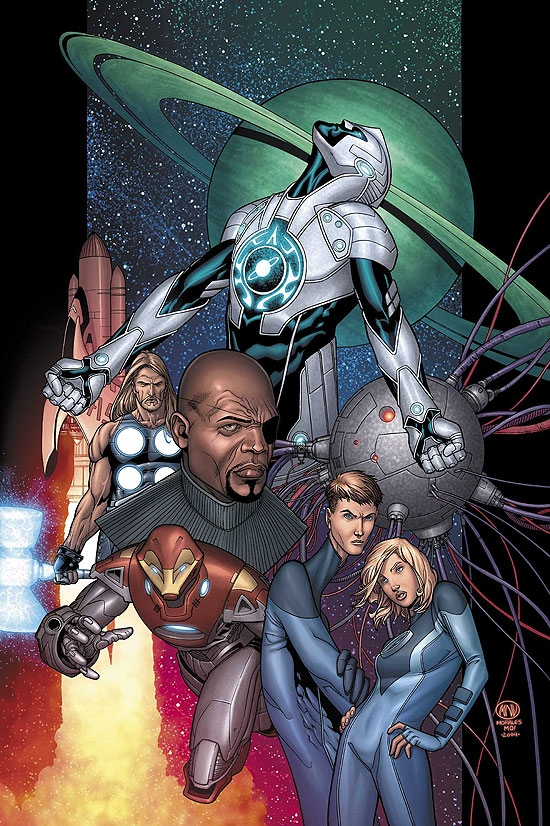 ULTIMATE SECRET (2006) #1 COVER