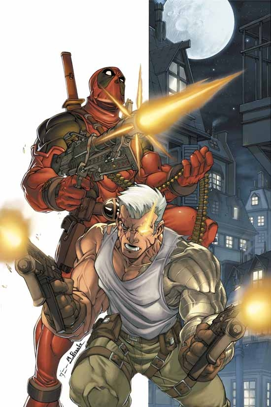 CABLE &amp; DEADPOOL (2003) #5 COVER