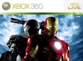 Iron Man 2: The Video Game Xbox 360 European box art