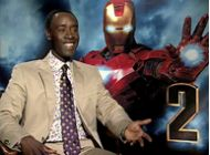 Iron Man 2 Up Close: Don Cheadle
