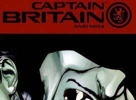 CAPTAIN BRITAIN AND MI13 #10 cover