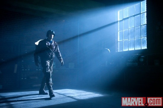 Chris Evans stars in Captain America: The First Avenger