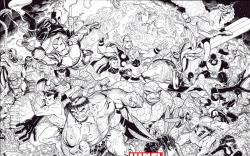 Point One (2011) #1, Bradshaw Inked Variant