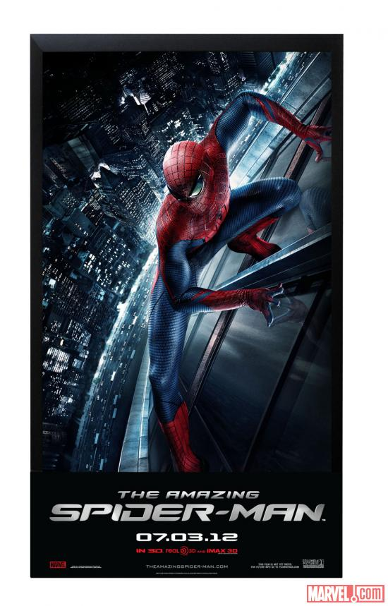 The Amazing Spider-Man in-theater standee