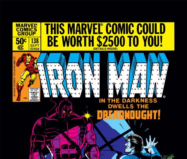 Iron Man (1968) #138 Cover