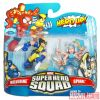 Wolverine and Spiral Marvel Super Hero Squad toy two-pack
