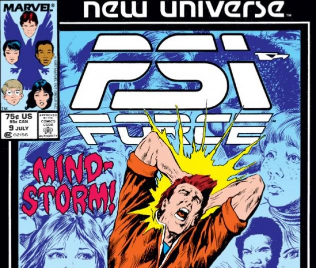Psi-Force #9