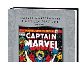 MARVEL MASTERWORKS: CAPTAIN MARVEL VOL. 3 HC #0