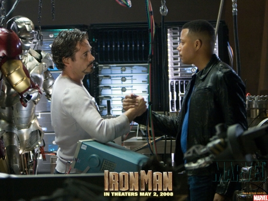 Iron Man Movie: Tony Stark and James Rhodes #2