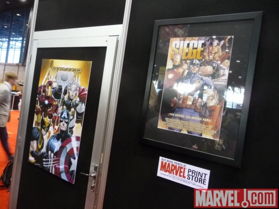The Marvel Print Store: Avengers and Siege Prints at C2E2 2010