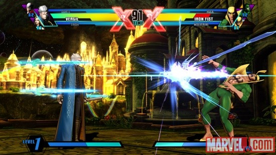 Ultimate Marvel vs. Capcom 3 Vergil Screenshot 10