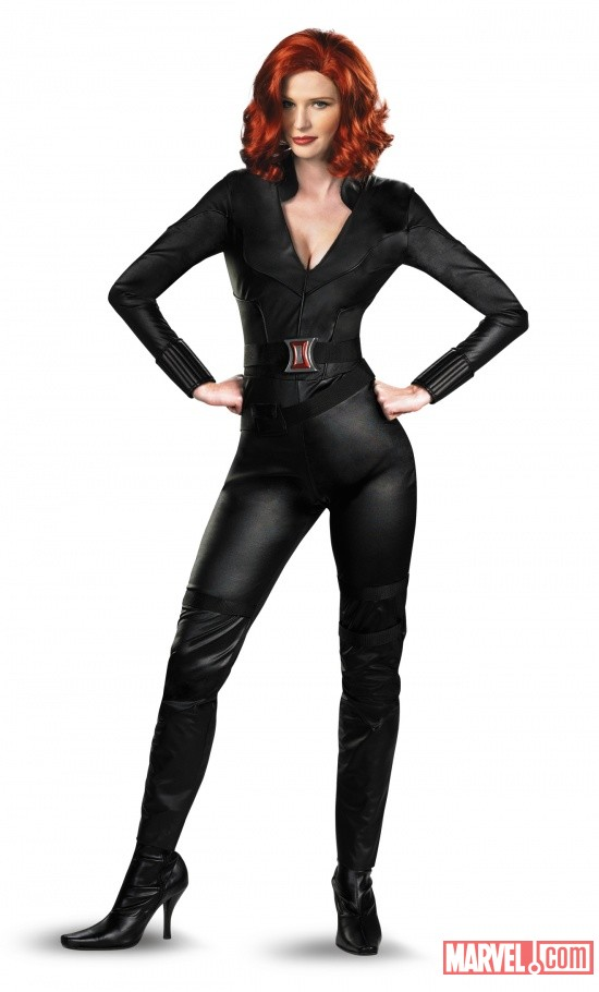 Black Widow Avengers Deluxe Adult