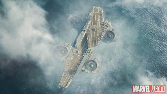 S.H.I.E.L.D.'s Helicarrier in Marvel's The Avengers