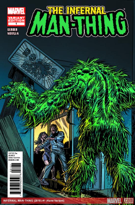 INFERNAL MAN-THING 1 KANE VARIANT (1 FOR 25, WITH DIGITAL CODE)