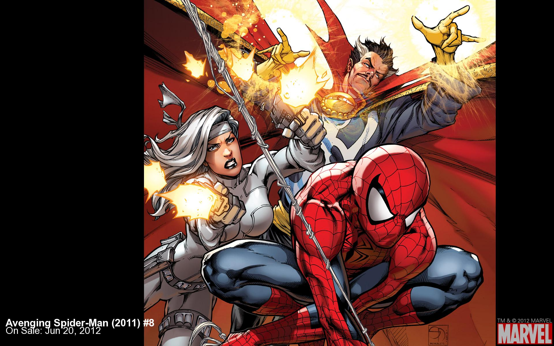 Avenging Spider-​Man (2011) #8