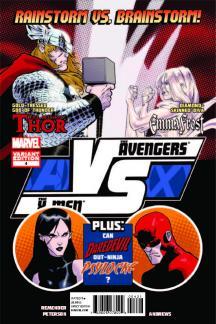 Avengers Vs. X-Men: Versus #4  (Fight Poster Variant)