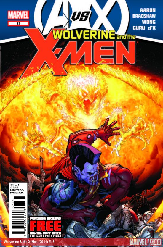 WOLVERINE &amp; THE X-MEN 13 (AVX, WITH DIGITAL CODE)