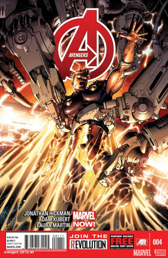 Avengers (2012) #4 cover by Dustin Weaver