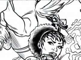 Marvel AR: Fearless Defenders #1 Art Evolution