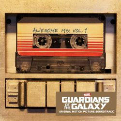 Guardians of the Galaxy soundtrack album cover awesome mix vol. 1
