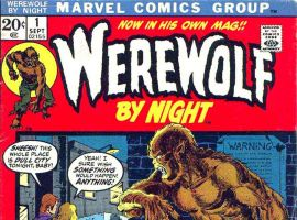 Werewolf By Night #1 cover