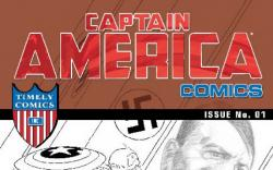 CAPTAIN AMERICA COMICS 70TH ANNIVERSARY SPECIAL #1 (SKETCH VARIANT)