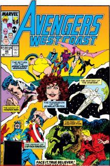 Avengers West Coast (1985) #49