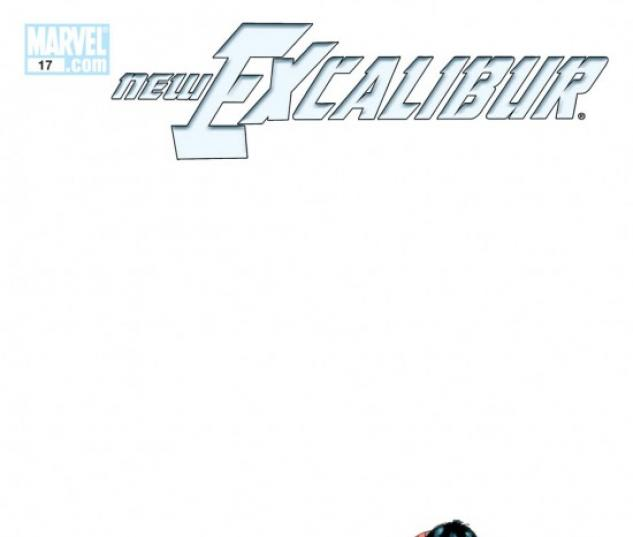 NEW EXCALIBUR (2008) #17 COVER