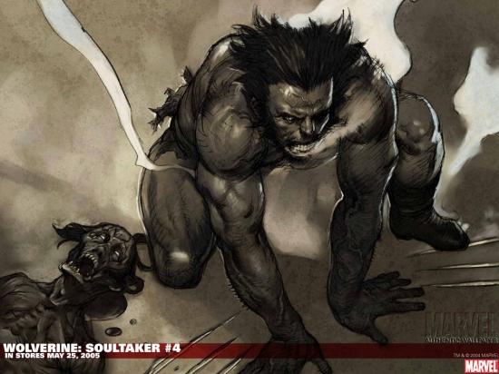 WOLVERINE: SOULTAKER #4