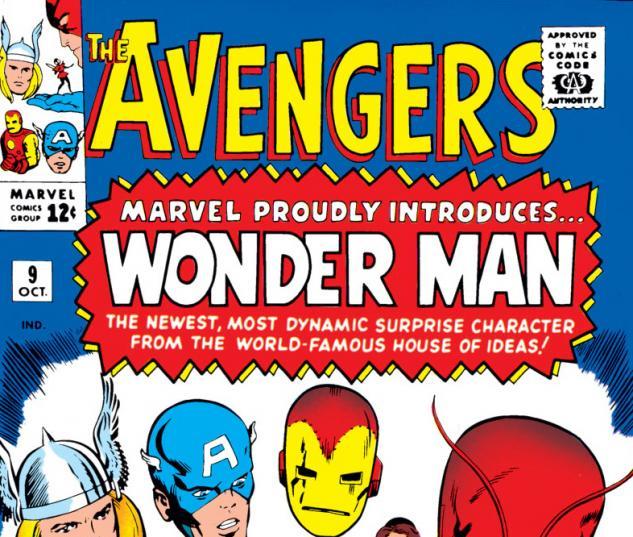 Avengers (1963) #9 cover