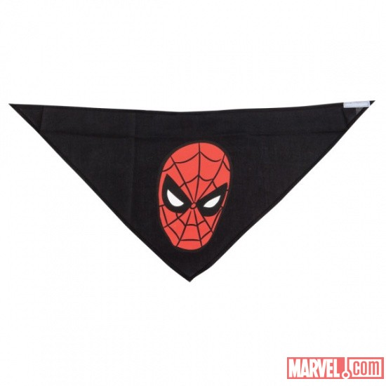 Spider-Man Black Bandana by Fetch available at PetSmart
