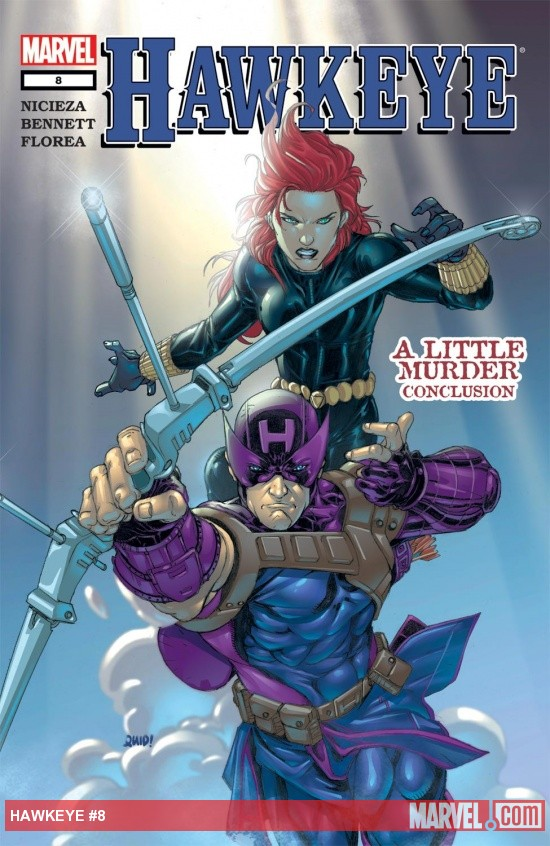 Hawkeye (2003) #8