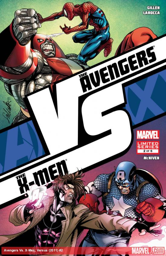 AVX: VS #2 cover art by Salvador Larroca