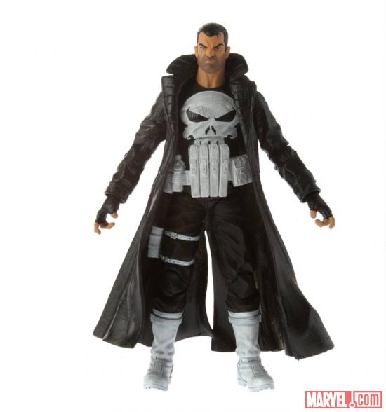 Marvel Legends Punisher and Blade Figures