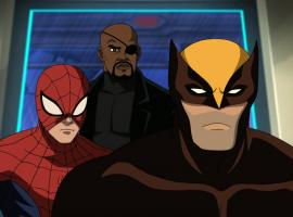 Screenshot from Ultimate Spider-Man Episode 9