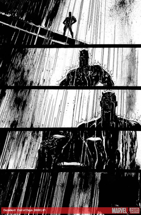 detail Comic Review:  Daredevil End of Days #1