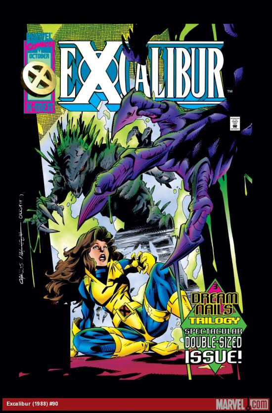 Excalibur (1988) #90 Cover