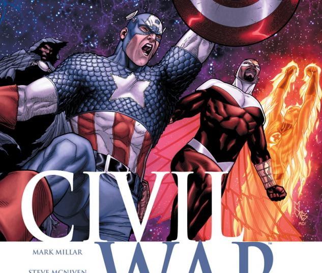 Cover: Civil War (2006) #6